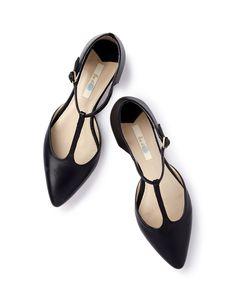 Spitze Ballerinas mit Steg AR638 Flache Schuhe bei Boden