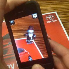 Toyota Iphone App Example
