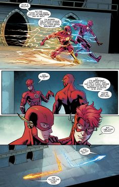 Titans (2016) Annual 1 Wally West, Dc Comics Characters, Dc Comics Art, Flash Comics, Game Character Design, Comic Character, Marvel Vs, Marvel Dc Comics, Dorkly Comics