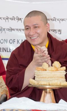 Happy birthday and only best wishes for a healthy and long life for H.H. the 17th Gyalwa Karmapa Trinley Thaye Dorje.