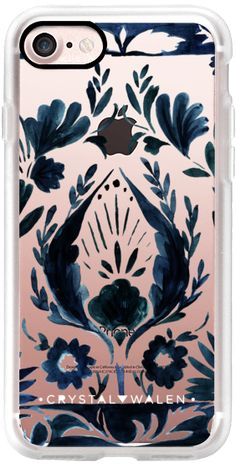 Casetify iPhone 7 Classic Grip Case - Nadia Flower Clear by Crystal Walen #Casetify