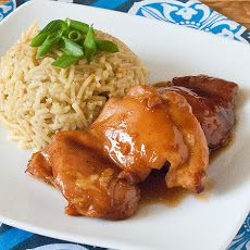 Oven Baked Teriyaki Chicken Thighs Recipe