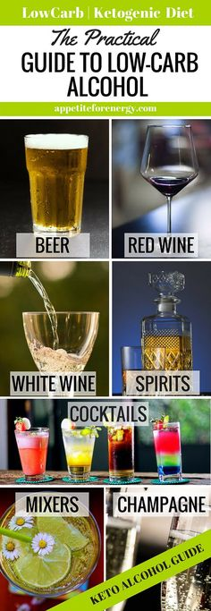 Can you drink alcohol on a low-carb or keto diet? YES, but what you choose to drink will depend on your goals. Find out the best low-carb alcohol choices. FOLLOW us for more how-to guides. PIN and CLICK through to read the guide! |Low-carb diet alcohol | ketogenic diet alcoholic drinks |keto diet alcoholic beverages | what to drink on a low-carb diet| guide to low carb alcohol|#LowCarbAlcohol #KetoAlcoholicDrinks #KetogenicDietAlcohol #LowCarbAlcoholicDrinks #LowCarbMargarita