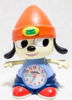 RARE! Parappa the Rapper Figure Alarm Clock JAPAN GAME Playstation