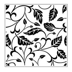 Cutting Edge Crafts, Craft Supplies, UK - Crafts Too Embossing Folder 140mm x 140mm - Leafy Background Crafts Too Embossing Folder 140mm x 140mm - Leafy Background