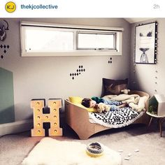 Do you call this a re regram? Featured on @thekjcollective #tkjcfeatures this week. So rapt to be featured on Kelly's blog and IG feed  Alex's room before the bat makeover