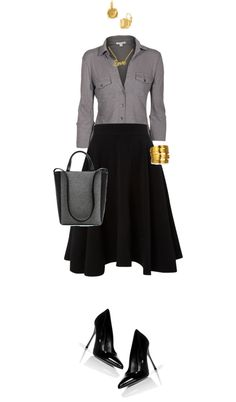 """""""Flare chic"""" by angela-windsor on Polyvore"""