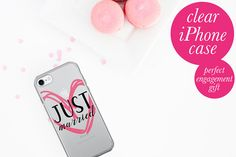 This Bride phone case is the perfect accessory for the bride to be. The back of this case is solid and anti-scratch while the sides are flexible. Its solid, sleek, and easy to take on and off.  - Back is made of solid, acrylic composite - Soft, TPU sides - Holes line up with phones functions - Back is solid and scratch-resistant - Printed in the USA - Get it here: https://shopthebridetribe.com/collections/cell-phone-cases/products/just-married-iphone-5-5s-se-6-6s-6-6s-plus-case