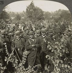 1914/1918 - Battle of the Aisne, French infantry, transferring to left wing