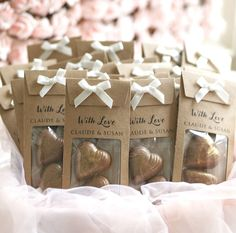 Any one of these decor and wedding favors ideas will surely amass to the fun and festivity of your wedding day. choose wedding souvenirs as is or customize an idea. * Find this favorable article by going to the link at the image. Handmade Wedding Favours, Homemade Wedding Favors, Chocolate Wedding Favors, Creative Wedding Favors, Inexpensive Wedding Favors, Elegant Wedding Favors, Edible Wedding Favors, Wedding Gifts For Guests, Wedding Favor Bags