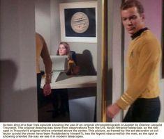Screen shot of a Star Trek episode showing the use of an original…