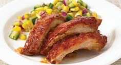 Slow Cookers Southern BBQ Ribs - Everyday Cooking - McCormick.com - These pork ribs are sweet and tangy and oh so tender.