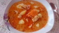 Cheeseburger Chowder, Thai Red Curry, Food And Drink, Soup, Ethnic Recipes, Soups