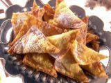 Orange Ginger Wontons (Melissa D'Arabian - Food Network)