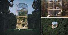 """Una+""""casa+del+árbol""""+de+lujo+que+revoluciona+la+forma+de+vivir+en+contacto+con+la+naturaleza"""