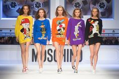 Moschino Fall 2015 Show