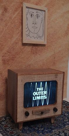 Miniature television sets that lights up by PinnacleMiniatures, $25.00