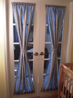 Curtains For French Doors Ideas find this pin and more on curtains and blinds diy roman shades for french doors Using French Door Window Treatments To Give Your Home A Fresh Look Drapery Room Ideas