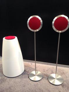 Bang & Olufsen speakers have peepers.
