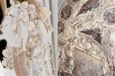"""whereiseefashion: """" Match #392 Details at Chanel Spring 2006 