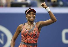 Best of the 2017 U.S. Open - August 30, 2017:  TENNIS: U.S. OPEN -  Venus Williams of the United States celebrates after match point against Petra Kvitova of Czech Republic on day nine of the U.S. Open tennis tournament at USTA Billie Jean King National Tennis Center.