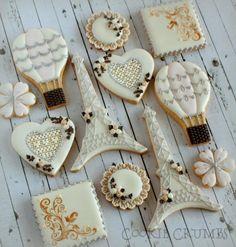 Paris Themed Cookies - Cookie Crumbs