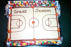 Basketball party cake