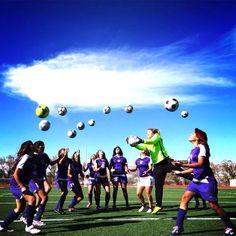 Senior team soccer picture pose MHS