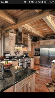 Beautiful Rustic Kitchens rustic kitchen design | cabins | pinterest | rustic kitchen and