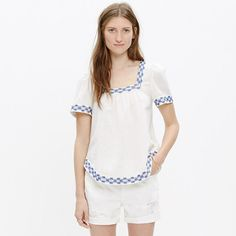 Madewell Arrow stitc