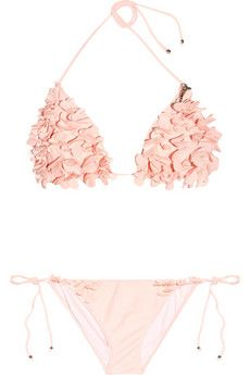 Triangle bikini by Miu Miu, omg love! The bottoms are a little dinky but the top and color is amazing