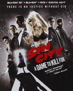 Frank Miller's Sin City: A Dame to Kill for [Blu-ray] [Importado]: Amazon.com.mx: Películas y Series de TV