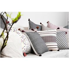 SMALL CUSHION - ANOUK CHARBON