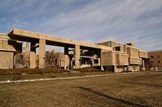 Orange County Government Center. 1967. Goshen, New York. Paul Rudolph