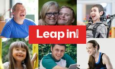 Leap in! Tablet Home Screen