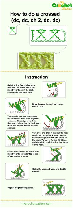 how to do a crossed 1 - infographic