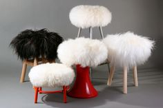 100% real sheepskin! Ultra Soft! The 'sheepskin top' is a suitable cover for nearly all stools, renowned for its softness, fluffiness, downy and dishevelled look.This will dress your stools to make them more welcoming and more comfortable. The cover is easily removed so you could also take it to work.With unrivalled temperature control properties; keeping you warm in winter and cool in summer. This materia... $94.00