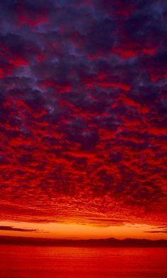 ✯ Crimson Sky - Alaska
