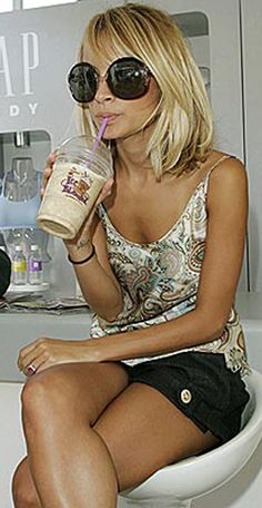 nicole richie. I think she's a little weird but I absolutely LOVE her style