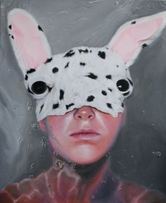 Deep down, I'm just a creepy plush animal - amazing hyper-realism art by Linnea Strid