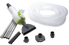 Skooba Pool Vacuum Kit For intex & Inflatable pools   Skooba Pool Vacuum Kit For intex & Inflatable pools The Kokido Skooba Pool Vacuum System attaches directly to your pool's inline filtration system for precision cleaning of dirt, sand, and other debris that's settled to the bottom of your pool. Its simultaneous vacuuming and filtering functions saves you money by prolonging the ife of your filter and leaves your pool looking sparking clean. About Kokido Established in the early 19..