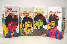 Beatles Juice: Apple McCartney, John Lemon, George Pearrison, Mango Starr || Designer: Marc Valega