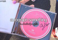 Autograph Something
