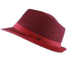Black Horn Light Weight Classic Soft Cool Mesh Fedora hat  fashion  clothing   shoes 3b203b8dfc3a