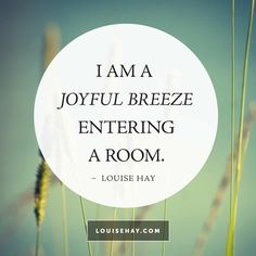 Beautiful and meaningful positive affirmations from me, Louise Hay, to inspire you every day. See new positive quotes each week in my affirmation gallery! Louise Hay Affirmations, Morning Affirmations, Love Affirmations, Affirmations Confidence, Positive Life, Positive Thoughts, Positive Quotes, Gratitude Quotes, Daily Thoughts