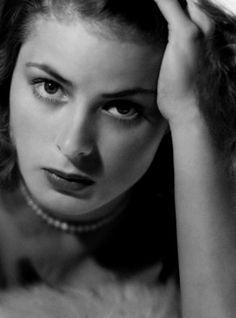 Ingrid Bergman, 1938. Photo by John Engstead