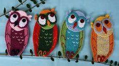crochet applique free patterns - Google Search