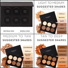 #ShareIG Beauties!! The @anastasiabeverlyhills new site is up and the launch of the Contour Highlight & Corrector refills are live! I just got off the site and wow @anastasiabeverlyhills made it so beautiful and helpful for everyone to find exactly what they need! I put together a collage of the templates she has of the contour kits she recommends by skintone. You can also custom pick your own favorites and build your own personalized palette . Genius! Just thought I would share this ...