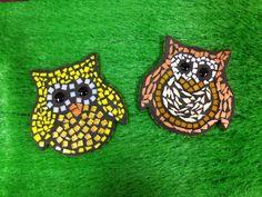 Uiltjes mozaiek €7,50 per stuk