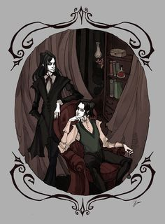 The Black Brothers by IrenHorrors on DeviantArt